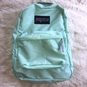 "New Jansport Backpack. School bag. Turquoise. 16"""